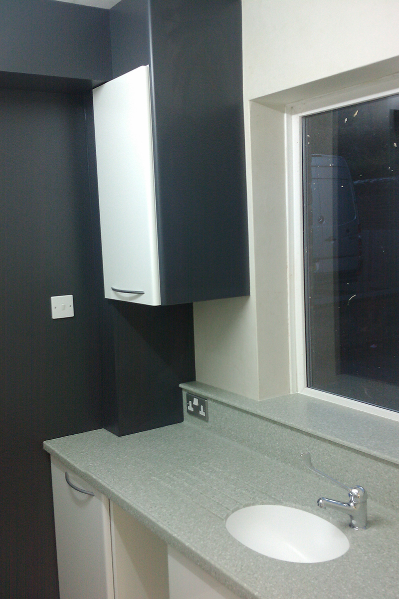 Decontamination Room Cabinetry